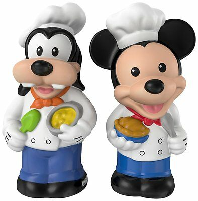 Brand New Fisher-Price Little People Magic of Disney Mickey & Goofy Buddy Pack