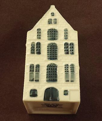 Klm Bos Delft Amsterdam Canal House Airline Liquor Bottle 37 Still Corked Sealed
