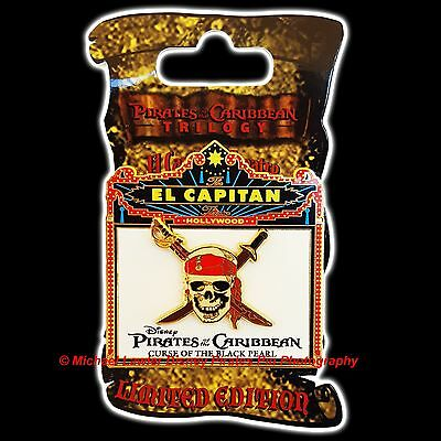 Disney Dsf Pirates The Caribbean The Curse Of The Black Pearl Marquee Pin