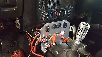 BMW E36 Compact, Coupe, etc, Switch Plate, Race, Rally Drift, Trackday