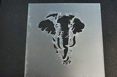 Stencils,masks,templates,numbers scrapbooking,craft, Elephant 8x8 inch