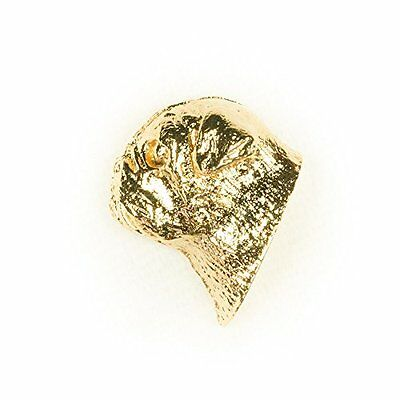 PUG HEAD Made in U.K Artistic Style Dog Clutch Lapel Pin Collection 22ct Gold