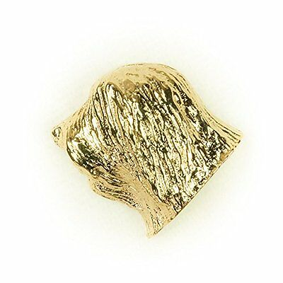 POLISH LOWLAND Made in U.K Artistic Style Dog Clutch Lapel Pin Collection 22ct