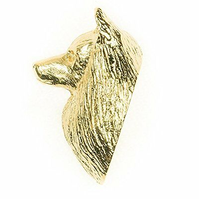 GERMAN SPITZ Made in U.K Artistic Style Dog Clutch Lapel Pin Collection 22ct