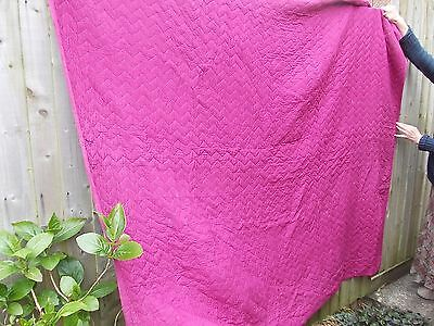 Vintage Quilt 67 inch x 80 inch approx