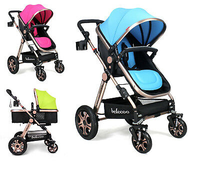 NEW Baby Infant Stroller With Outdoor Travel System, Pram Pushchair Buggy  0M+