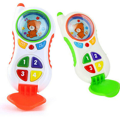 Simulated Musical Phone Toy Sound Learning Study Educational Toys for Baby Kids