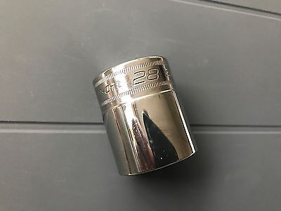 Snap On 1/2 Drive 28mm 12 Point Flank Drive Socket