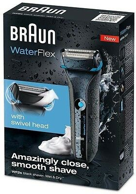 New sealed authentic Braun WaterFlex Electric Shaver - WF2S razor series