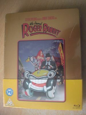 Who Framed Roger Rabbit Zavvi Exclusive Gold Edt Steelbook Blu-ray New & Sealed