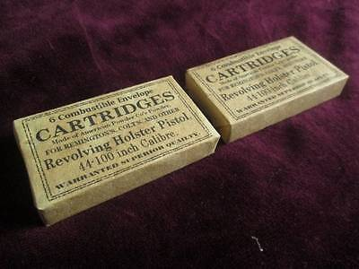 2 Reproduction Dummy .44 Paper Cartridge Packs