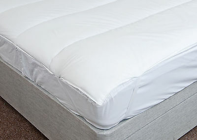 100% Luxury Microfibre Mattress Topper All Sizes Available