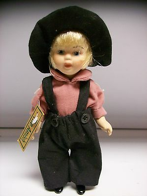 Springford Porcelain  The Amish Boy Doll Nice