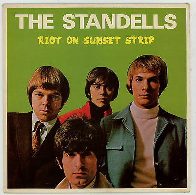 USA garage / pop - The STANDELLS : Riot On Sunset Strip - LP - FRANCE 1983