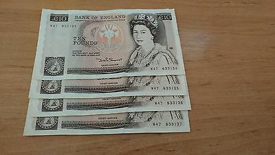 Old £10 note, Florence Nightingale Ten Pound Note, RARE