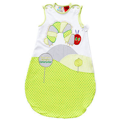 NWT The Very Hungry Caterpillar Boy Girl Embroidered Sleeping Bag Size 0-6 month