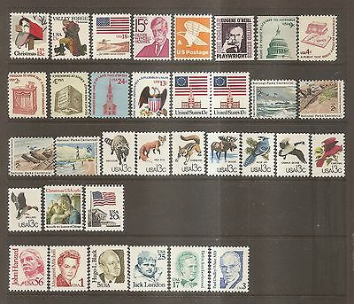 USA - Collection of Mint Never Hinged Stamps.
