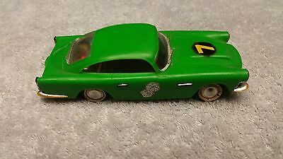 1960's Ideal Motorific Battery Powered Aston Martin Green