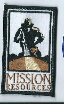 Mission Resources oilfield patch 3-1/2 X 2 #1708