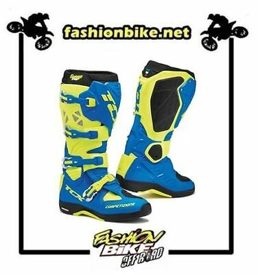 Stivale Tcx Comp Evo 2 Michelin Royal Blue/yellow Fluo