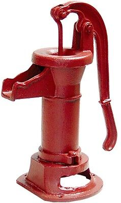 Heavy Duty Cast Iron Well Water Pitcher Hand Pump Red 25 ft Max Lift Shallow New