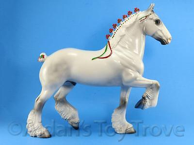 Peter Stone Traditional Model - 1998 Christmas Clydesdale - Trotting Drafter