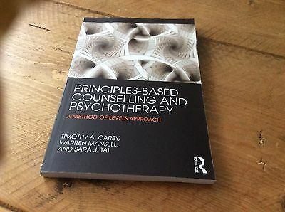 Principles-Based Counselling And Psychotherapy Paperback Book