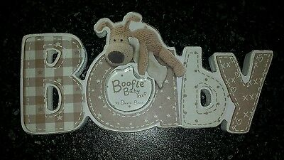 New Baby Boofle Photo Frame - Brand New - Christening Gift New Baby