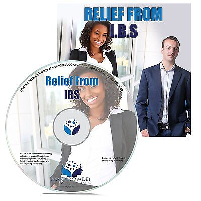 Relief from Irritable Bowel Syndrome Self Hypnosis CD - Mark Bowden Hypnotherapy
