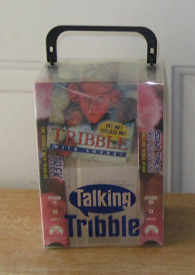Star Trek Tribbles Gift Set, Talking Tribble, 2 VHS Tapes