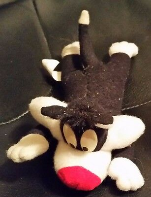 """Looney Tunes WB 8"""" stuffed Sylvester the Cat"""