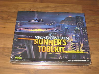 Shadowrun 4th Edition Runner's Toolkit Box Catalyst Game Labs New Sealed 2011