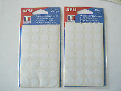 392 PASTILLES Rondes  Blanches   15 mm   AGIPA