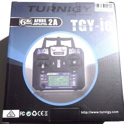 Turnigy TGY-i6 2.4Ghz Aircraft Transmitter & Receiver 6 channel (mode 2)