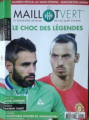 2017 SAINT ETIENNE v MAN MANCHESTER UNITED UTD EUROPA LEAGUE OFF A4 PROGRAMME ++