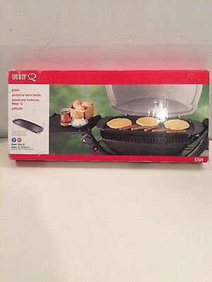 Weber Baby Q Griddle Q100 Series #6504 NEW