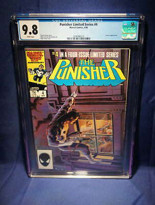 The Punisher Limited Series #4 | CGC 9.8 NM/MT | Marvel Apr 1986 | Mike Zeck
