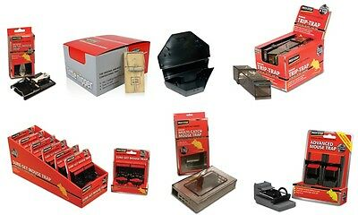 Pest Stop Mouse Traps, Live, Easy Set, Little Nipper.