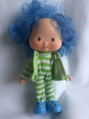 Crepe Suzette Vintage 1980s Strawberry Shortcake Doll With Pet