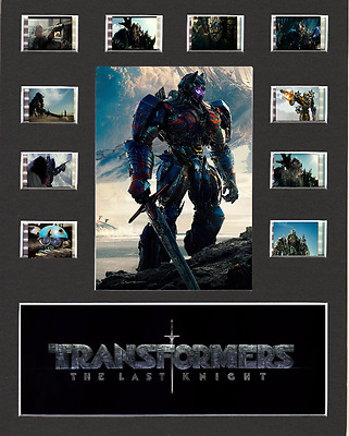 Transformers The Last Knight replica Film Cell Presentation 10 x 8 Mounted
