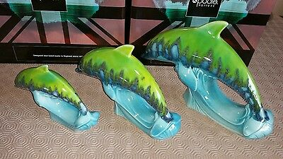 Stunning Set Of Poole Pottery Tallulah  Dolphins Unique?