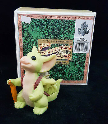 """Pocket Dragons """"On The Road Again"""" by Real Musgrave 1996 Signed Mint w/ Box"""