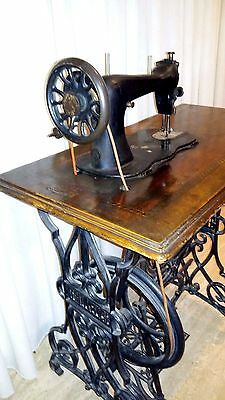 Vintage Sewing Machine-Pre 1900-Rarest And Hard To Find Brand!- Frati Kepich