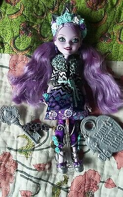 Ever After High Kitty Cheshire Spring Unsprung rare doll