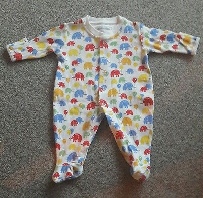 JoJo Maman Bebe baby grow - newborn (up to 10lb)