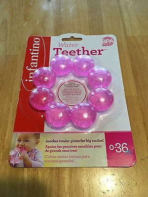 Infantino Water Teether, BPA Free, New, Chills in the Refrigerator