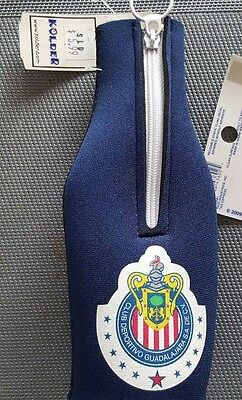 Four Chivas De Guadalajara Bottle Holder in blue