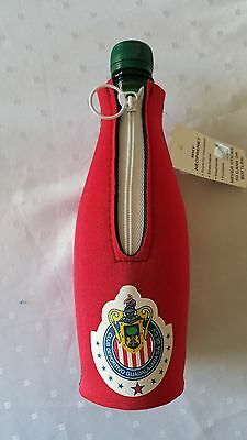 4 Chivas De Guadalajara Bottle Holder in either red and blue