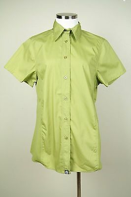 Chef Works Womens Lime Cool Vent Button Down Chef Shirt NWT SZ XL