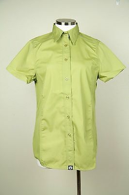 Chef Works Womens Lime Cool Vent Button Down Chef Shirt NWT SZ L